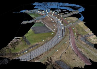 Pilot spoormeting Uithoflijn BAM Infra Rail